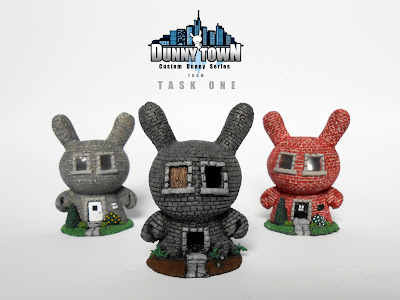 "Dunny Town Custom 3"" Dunny Series by Task One"