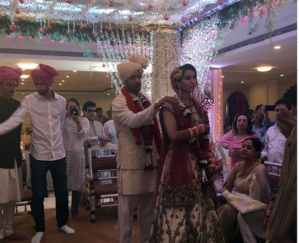 , Pragya Yadav Abhishek Kapoor Wedding Pics