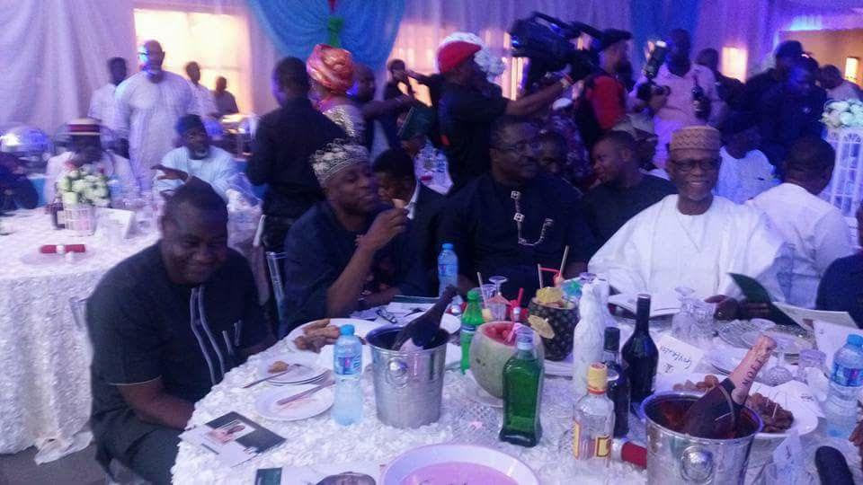 Photos from send-forth party of outgoing Edo State governor Adams Oshiomhole