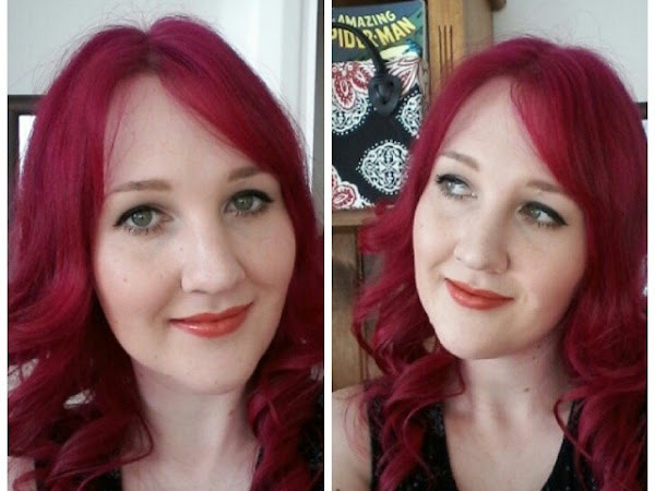 Twinsy Thursdays: Maybelline Colorsensational Coral Fire Lipstick