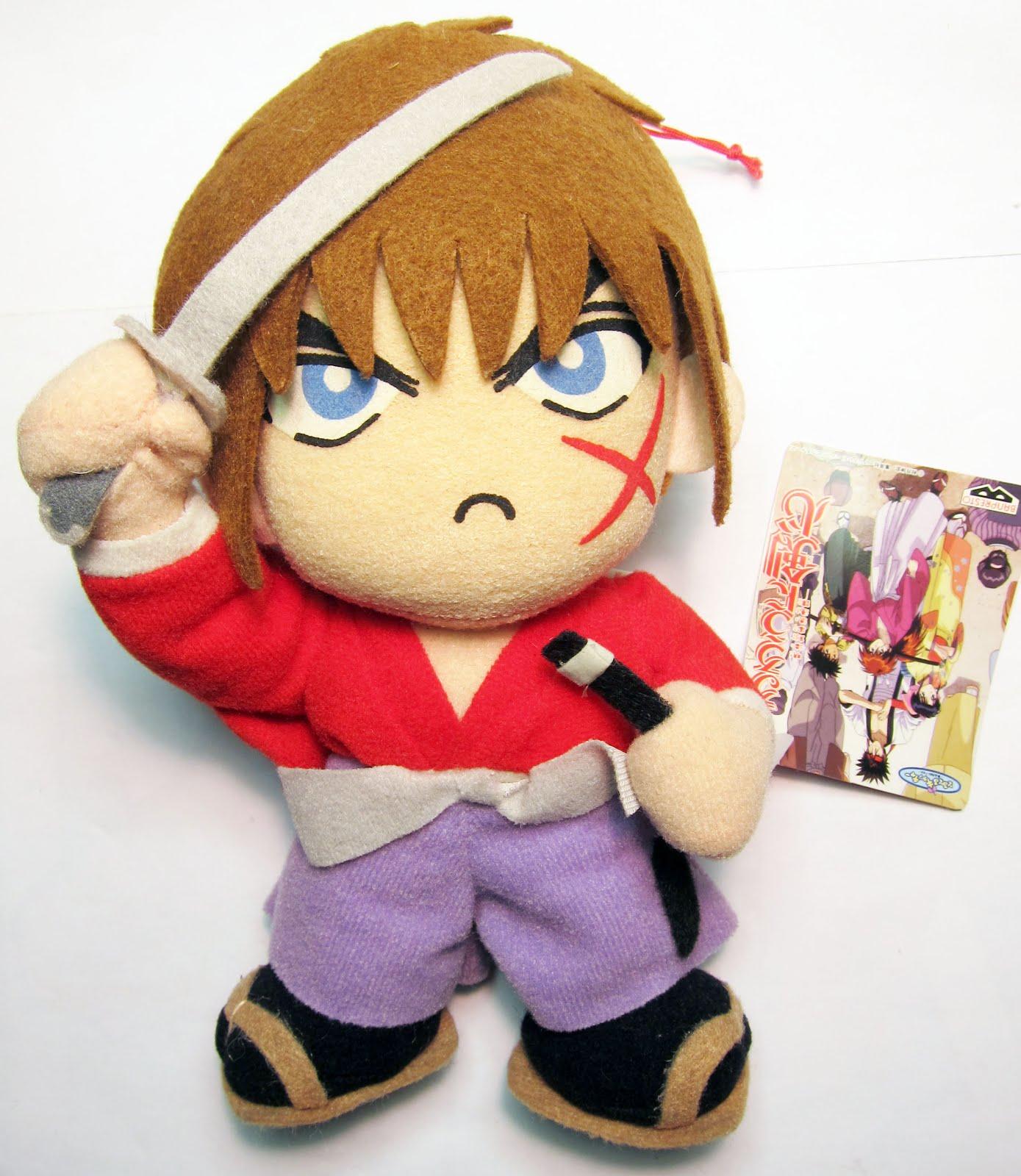 Rurouni Kenshin Season 1: Jesssellsherstuff: Rurouni Kenshin Series 1 Plush