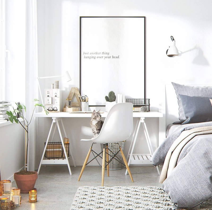 white-and-wooden-chair-office
