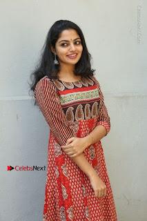 Telugu Actress Nikhila Vimal Latest Stills in Anarkali Dress  0050.JPG