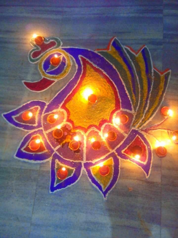 Kolam for Diwali 2