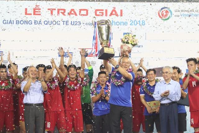 Bùng nổ phút cuối, U23 Việt Nam tưng bừng đăng quang Cúp Tứ hùng 5