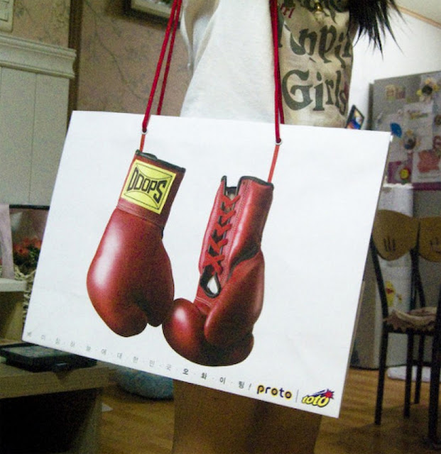 Green Pear Diaries, diseño, packaging, bagvertising, bolsas creativas, Doops