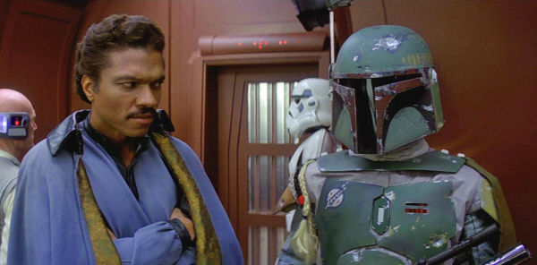 Lando Calrissian and Boba Fett