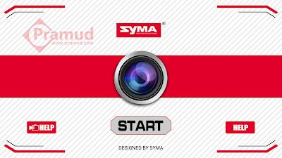 syma indonesia, bagaimana cara mengonekkan kamera fpv drone syma x5hw, x5sw, x8w, x8c, x8hw - pramud.com