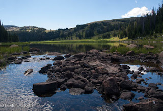 Lake Columbine, Beartooth Mountains, Montana.