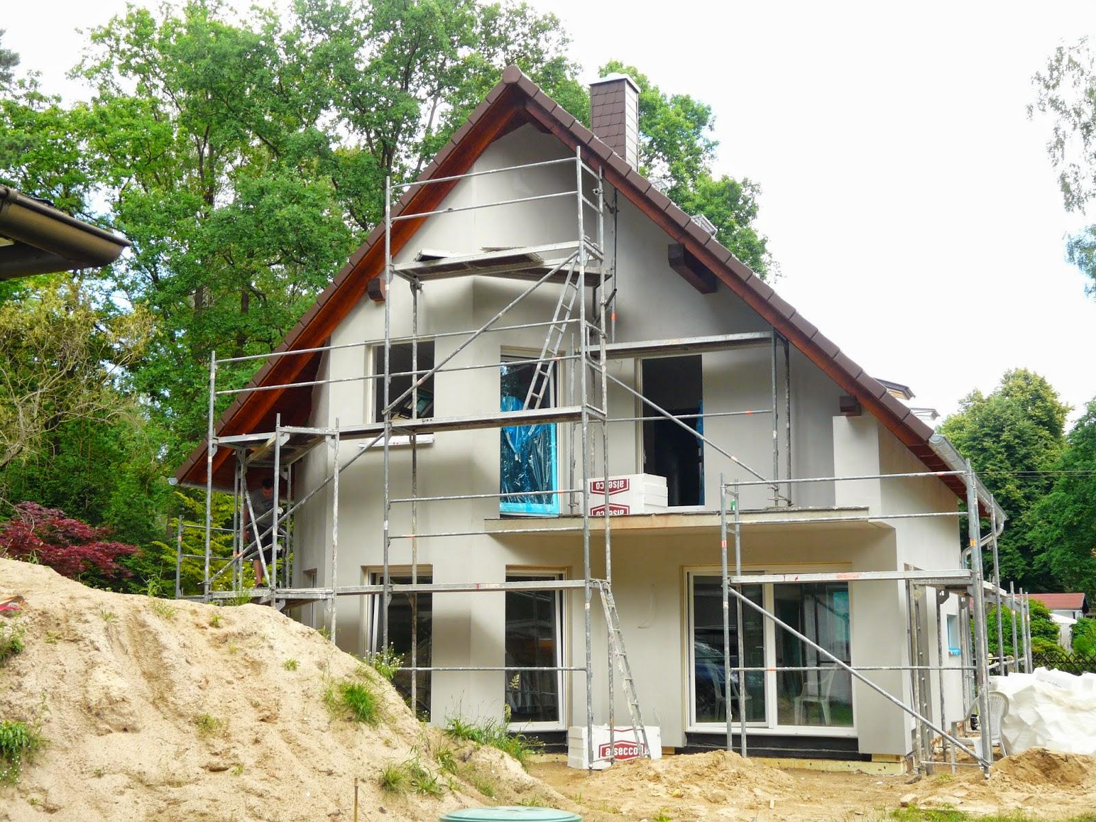 FIBAV HAUS HS BAU Bautagebuch 16 06 14 Das Haus ist