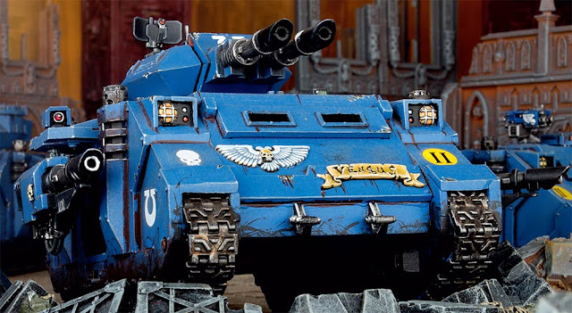 Marines Espaciales Warhammer 40000