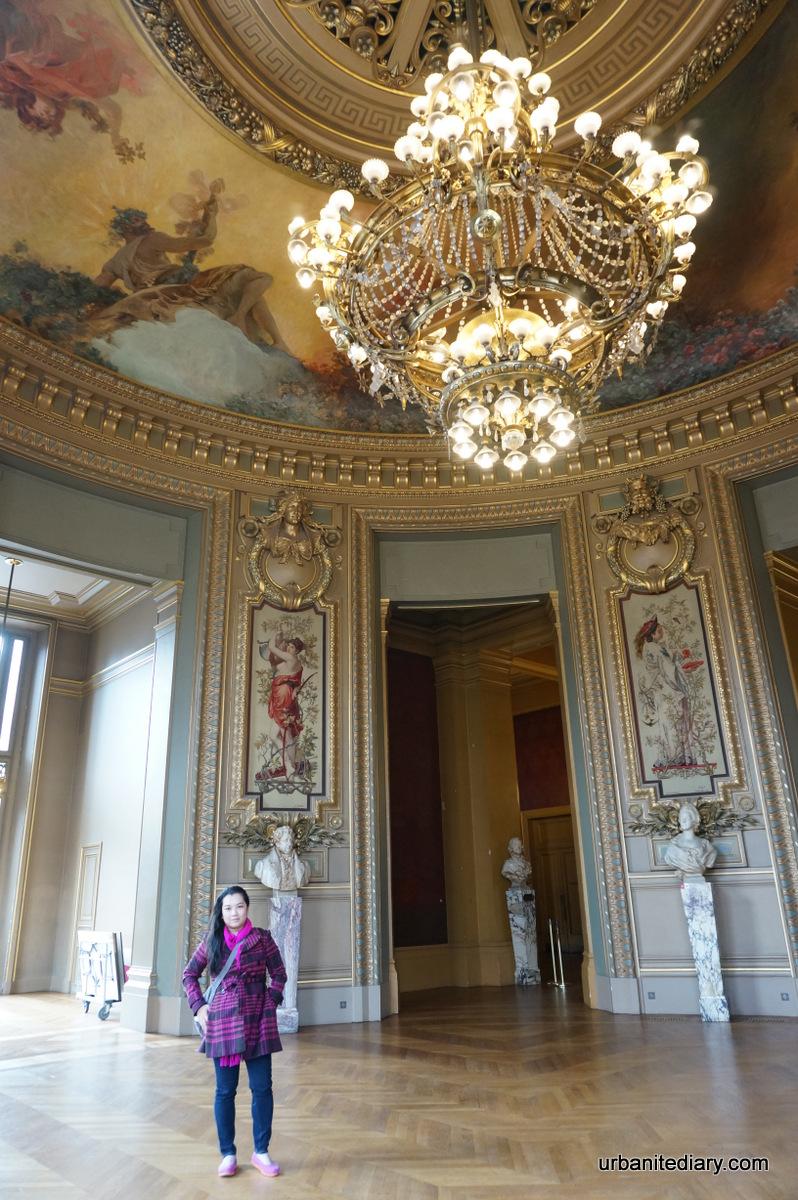 Grand Foyer Du Souss : Salon du soleil at the end of grand foyer