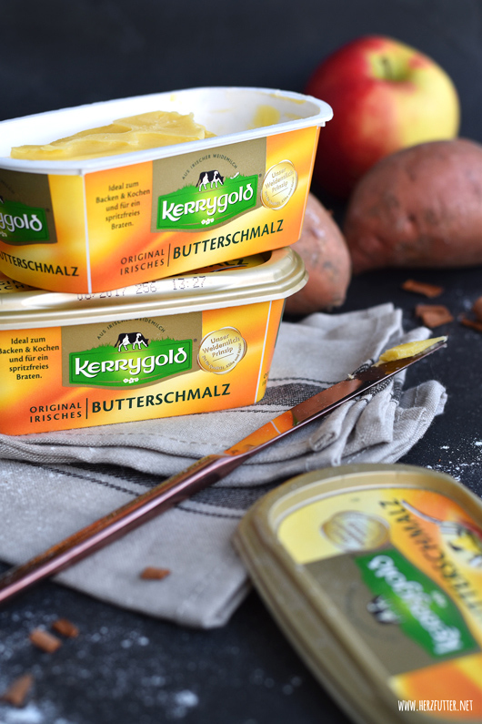 Rezept mit dem neuen Kerrygold Butterschmalz