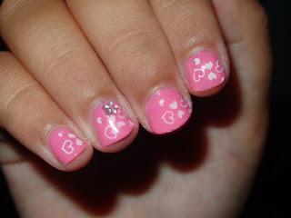 Manicura Rosa para Niñas