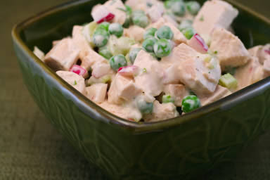 20 Low-Carb Beat-the-Heat Chicken Salads from Rotisserie Chicken found on KalynsKitchen.com