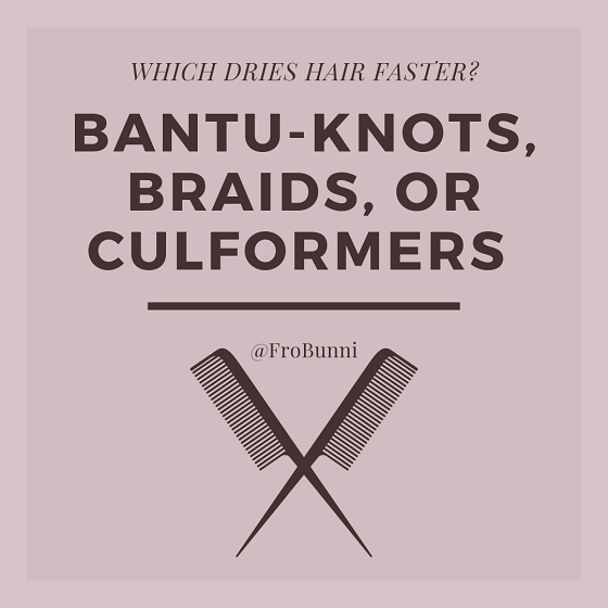 Bantu-Knots, Braids, Culformers: Which Dries Hair Faster header image