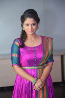 Shilpa Chakravarthy in Purple tight Ethnic Dress ~  Exclusive Celebrities Galleries 045.JPG
