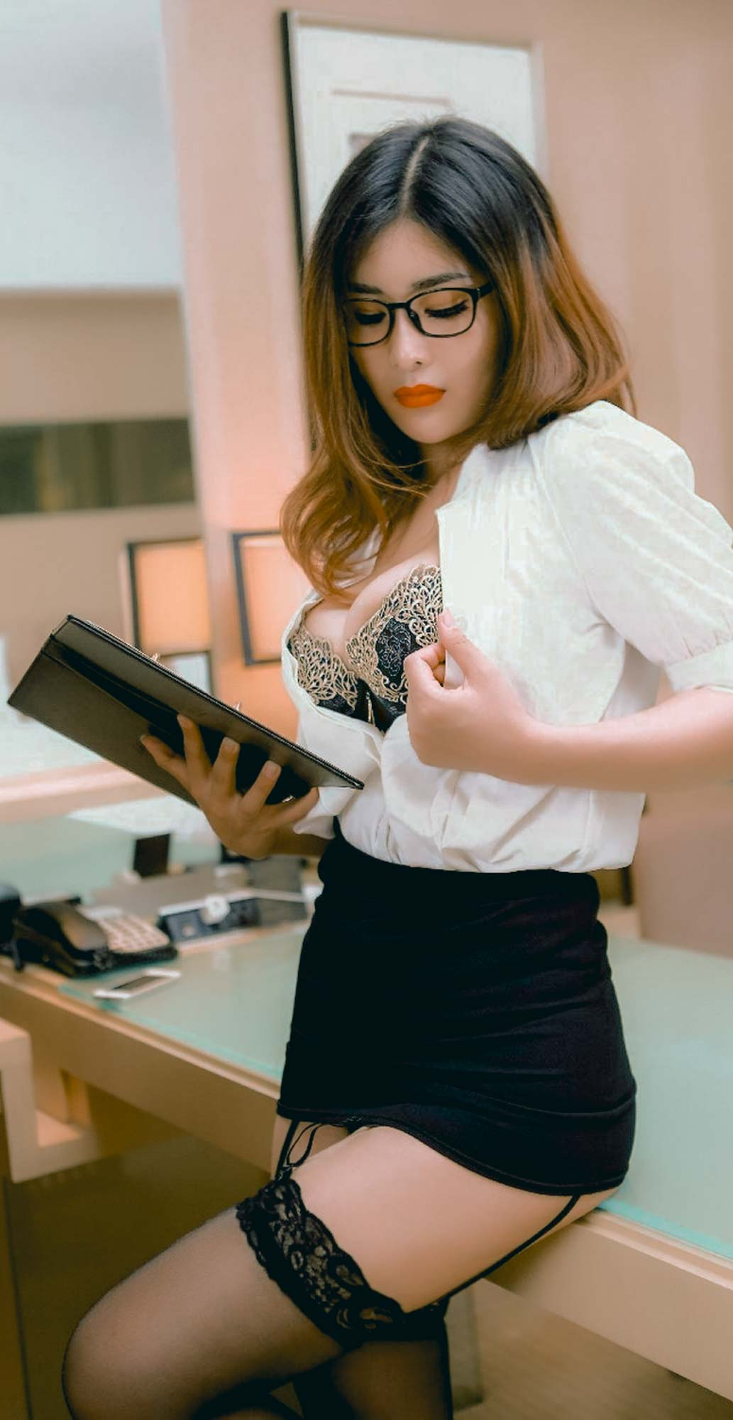 Yan Panpan 闫盼盼 | Nymph Voluptuous Secretary | Page 7 of 8 ...