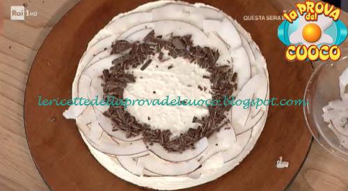 Dolce al cocco senza cottura ricetta Cattelani da Prova del Cuoco