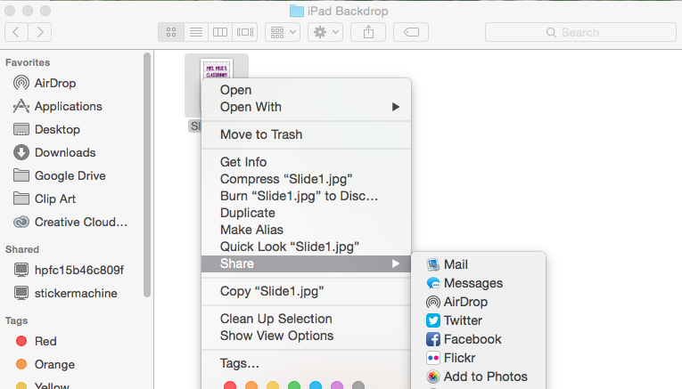 how to have 2 screens open at once on mac