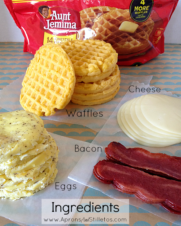 Breakfast-On-The-Go Waffle Sandwiches