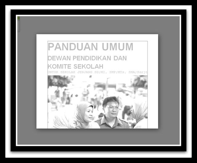 Download Panduan Umum Pendidikan Komite Sekolah Semua Jenjang