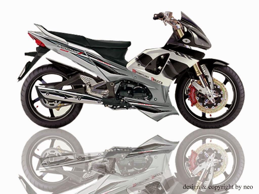 100 Modifikasi Motor Supra X 125 Sport Terlengkap Kumbara Modif