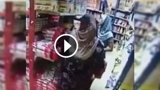 Sanggup Selak Kain Dalam Kedai Untuk Mencuri