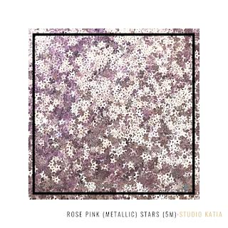 Rose Pink Stars