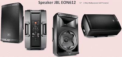 Harga Speaker Aktif 12 Inch JBL EON612 Bluetooth