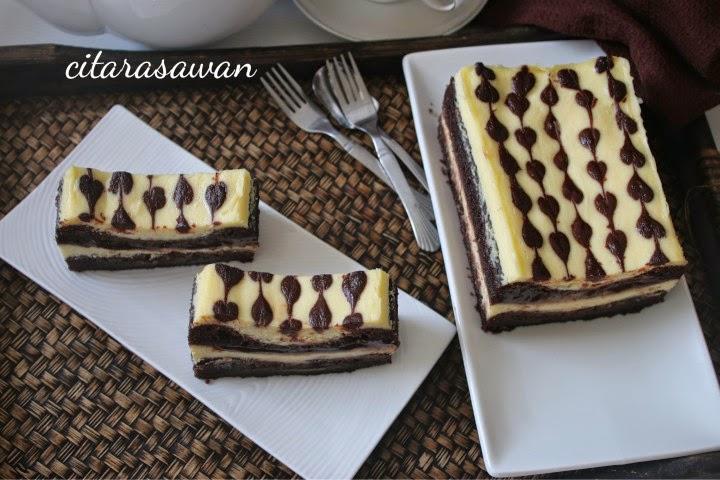 Kek Lapis Kukus Cream Cheese ~ Resepi Terbaik