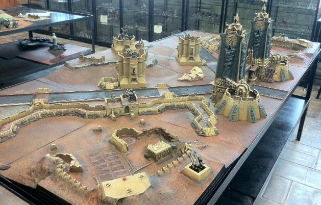 you magnificent bastards 40k table