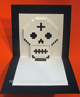 Día de los Muertos pop up card