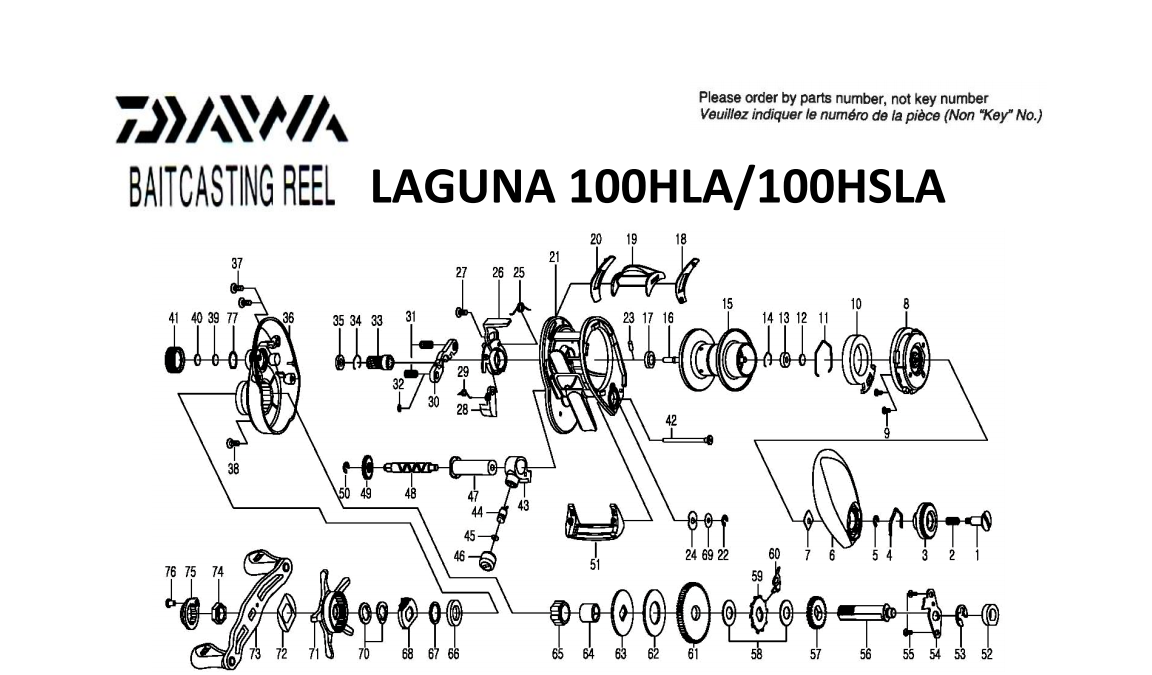 daiwa laguna 2014 model schematics | most complete reels ... on