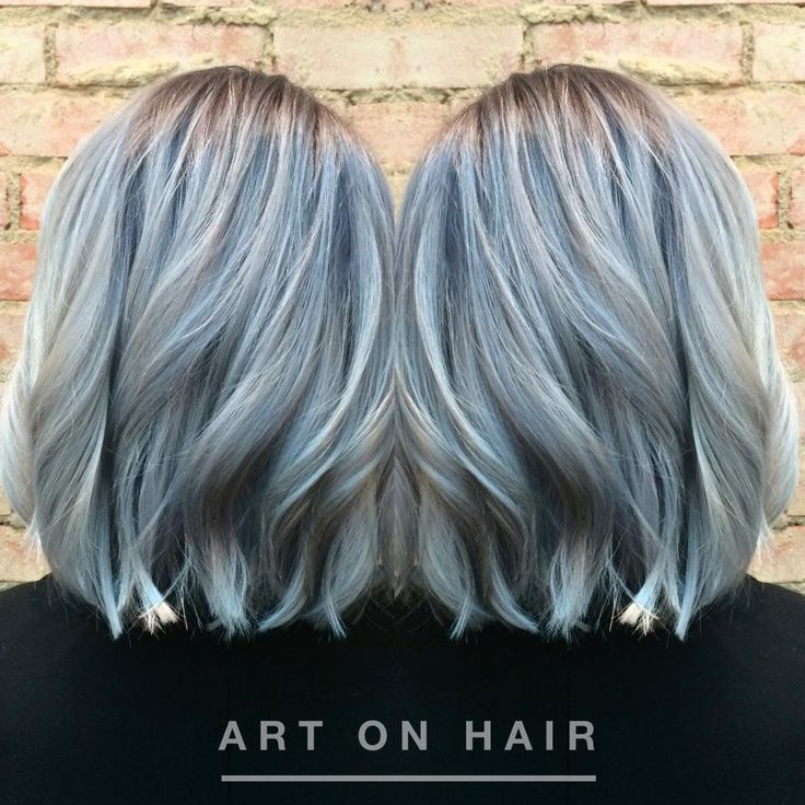 Trendy Metallic Hair Shades The Haircut Web