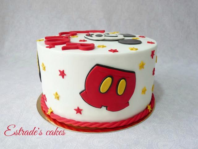 Tarta de Mickey Mousse para cumpleaños 2