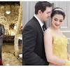 Baru Saja Dinikahi Pria Tampan Berparas Bule, Pernikahan Mewah Artis Cantik Ini Jauh dari Sorotan
