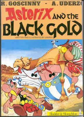 Download free ebook Asterix and the Black Gold - Album 25 pdf