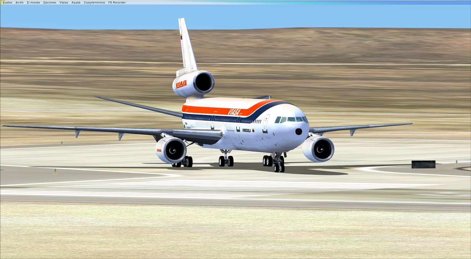 manual para aterrizar fsx add-ons