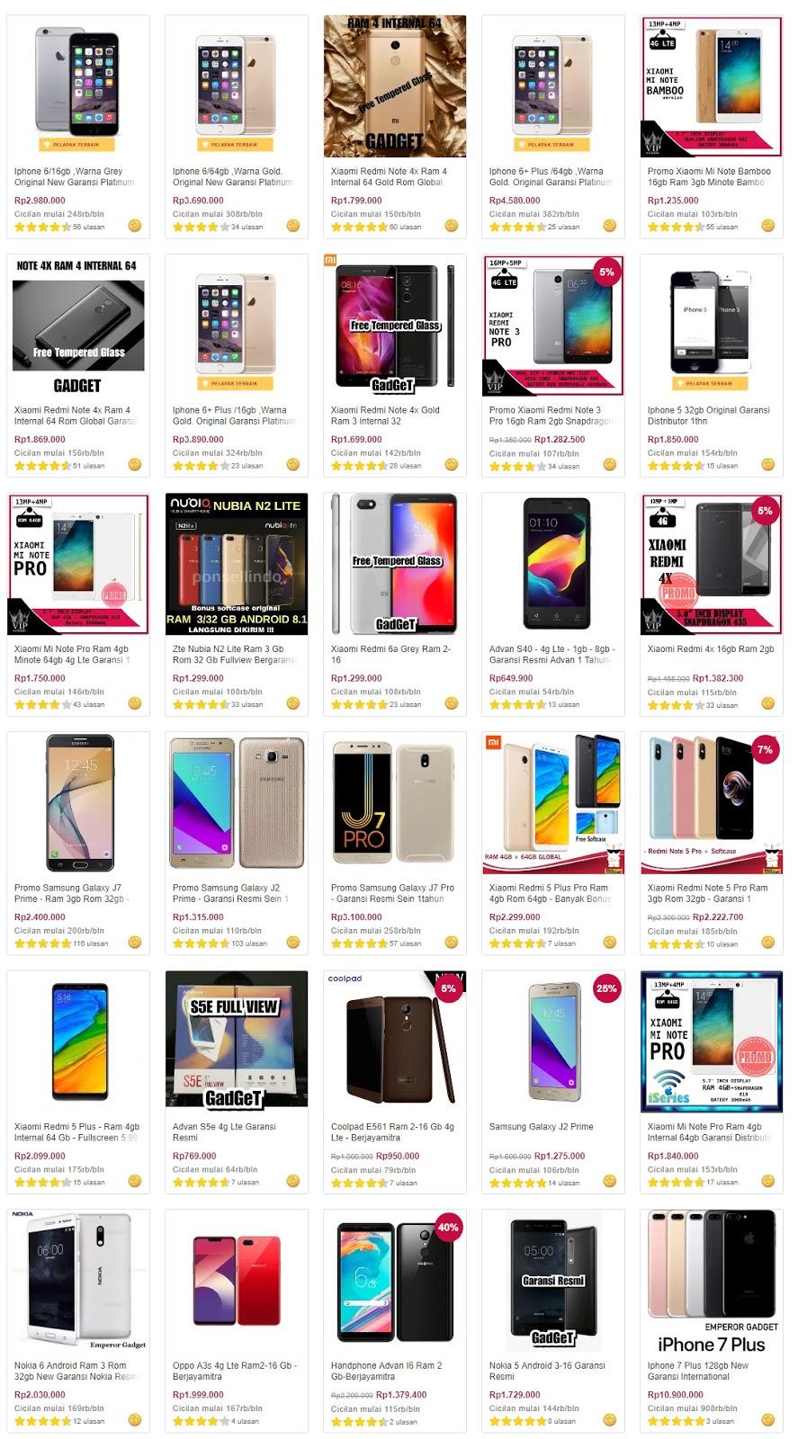 #Bukalapak - Promo Handphone Special Akhir Tahun Cashback 70% & Cicilan 0%