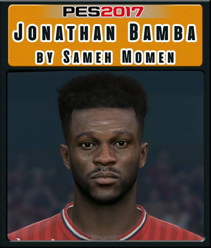 PES 2017 Jonathan Bamba Face by Sameh Momen