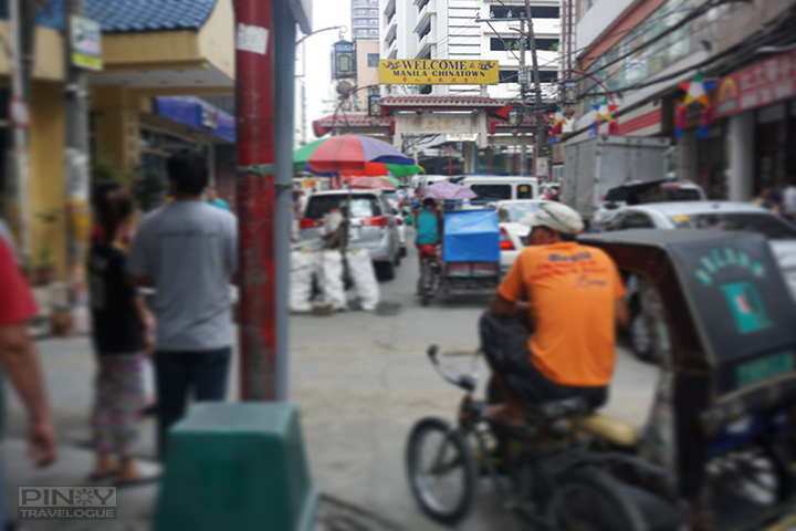 Manila Chinatown welcome arc