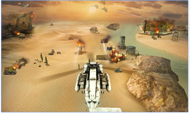 Gunship Strike 3D v1.03 Mod APK