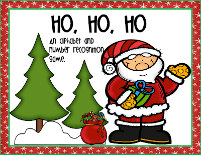 https://www.teacherspayteachers.com/Product/Ho-Ho-HO-A-Letter-and-Number-Identification-Game-2243845