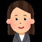 女性会社員の顔のアイコン1