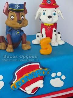 patrulha pata bolos festas aniversário bragança