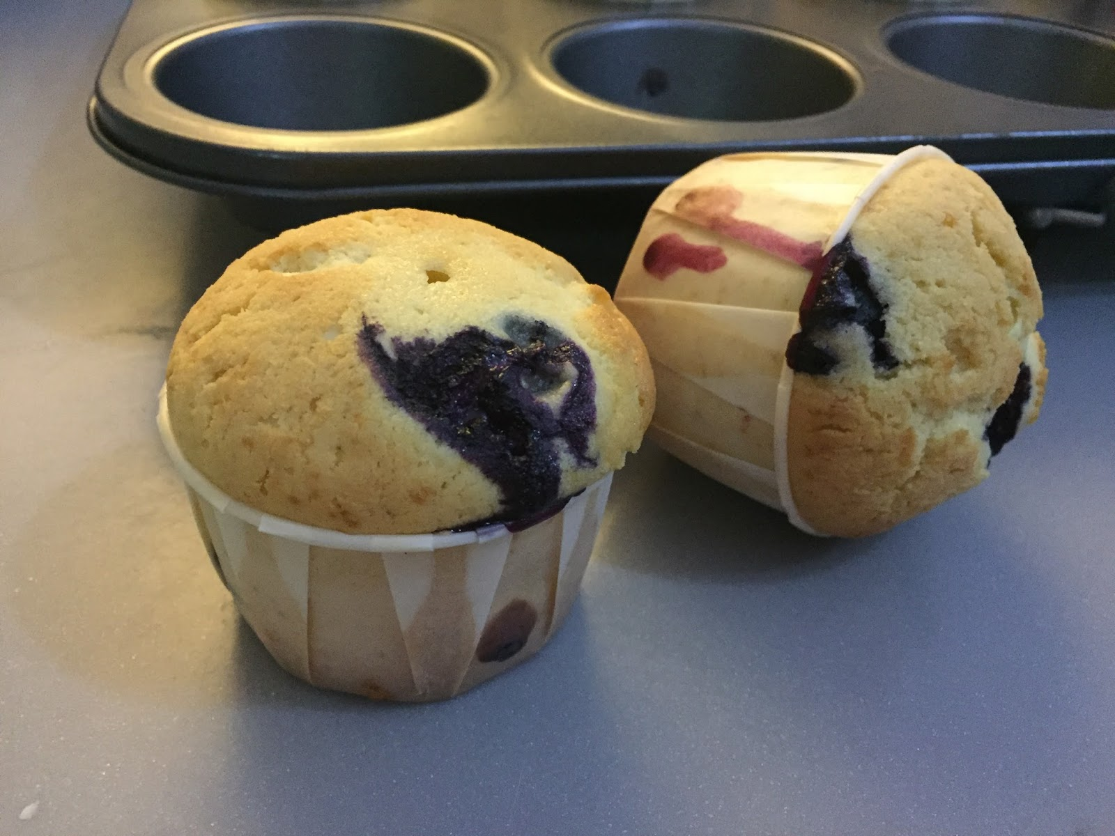 Resepi blueberry mufin