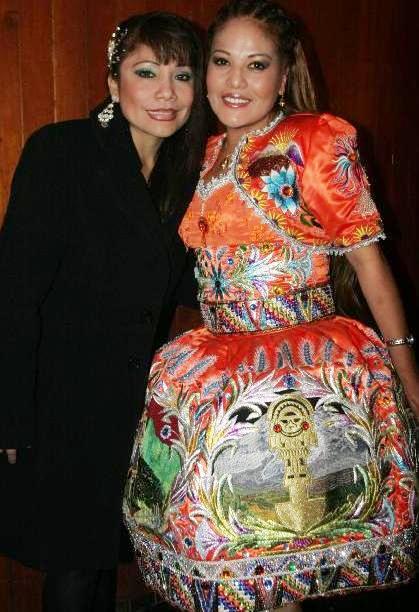 Marisol Cavero con su tocaya Marisol