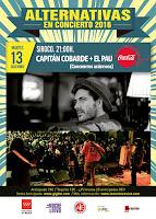 Alternativas en concierto, Capitán Cobarde y El Pau en Siroco