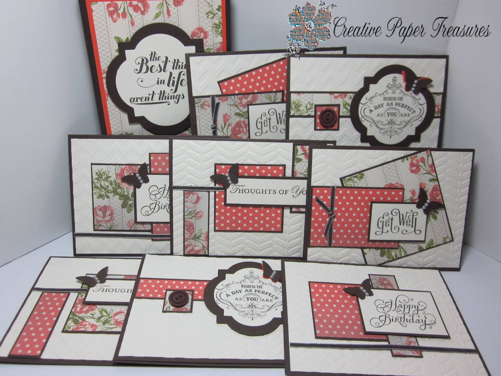 Creative Paper Treasures: Tea for Two One Sheet Wonder - photo#41